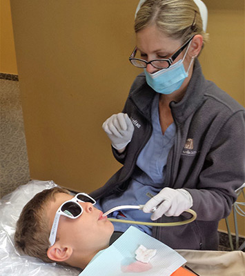 Child Dental Surgery