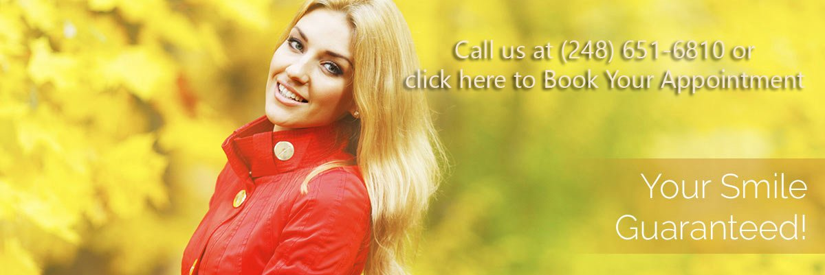Dentist Rochester Hills - Smiling Woman