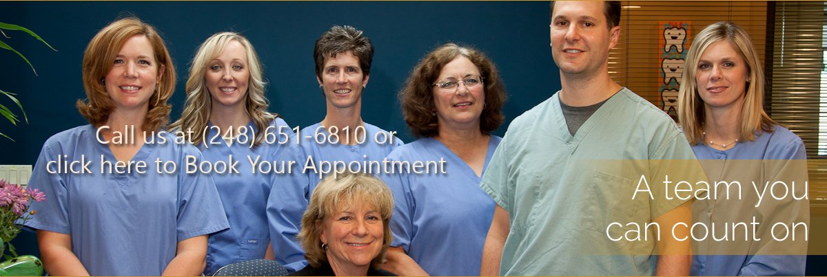 Dentist Rochester Hills - Dental Team