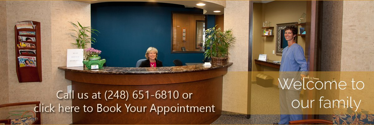 Dentist Rochester Hills - Reception